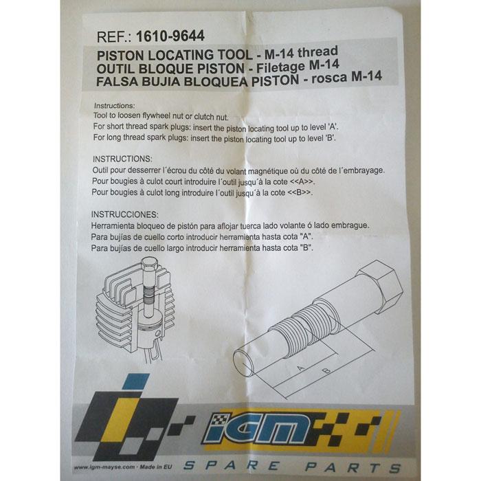 Kolbenstopper Vespa 50