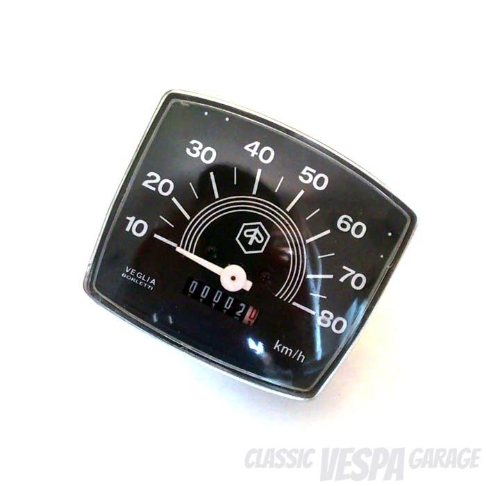 Tacho Vespa Trapezlenker Special 80 km/h
