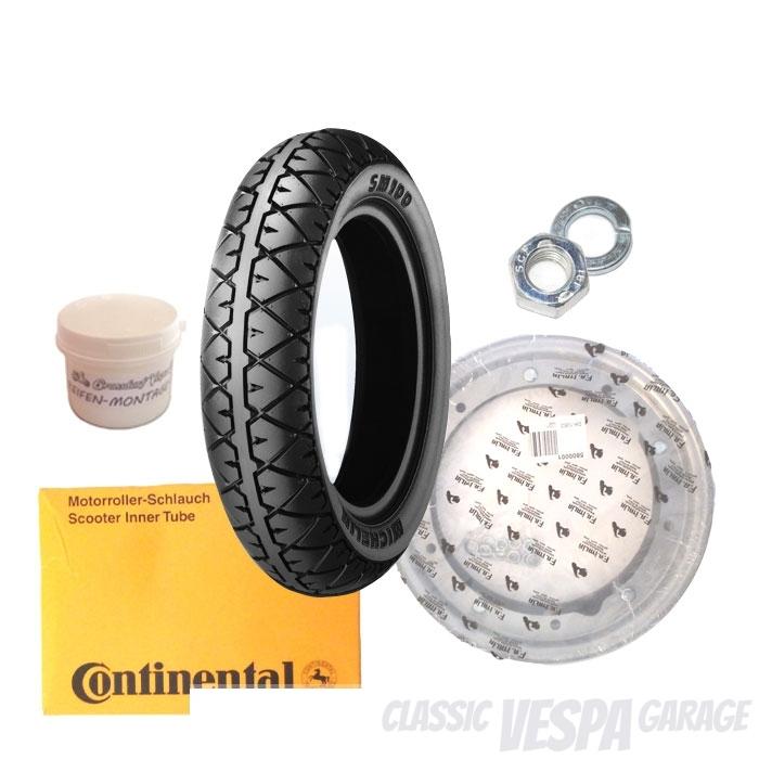 Reifen Montage Kit Vespa 50