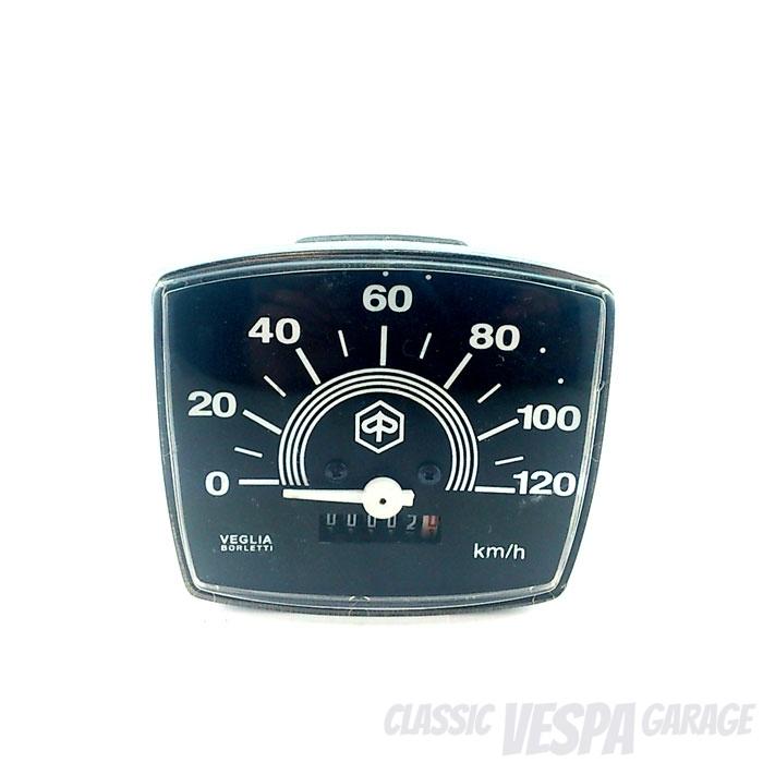 Tacho Vespa Trapezlenker Special 120 km/h
