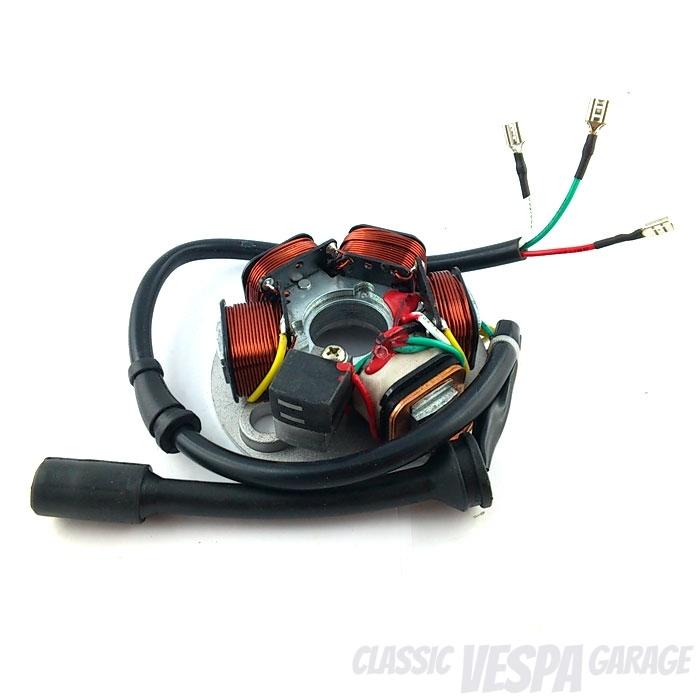 Zündung Zündgrundplatte Vespa PK 12V elektronisch
