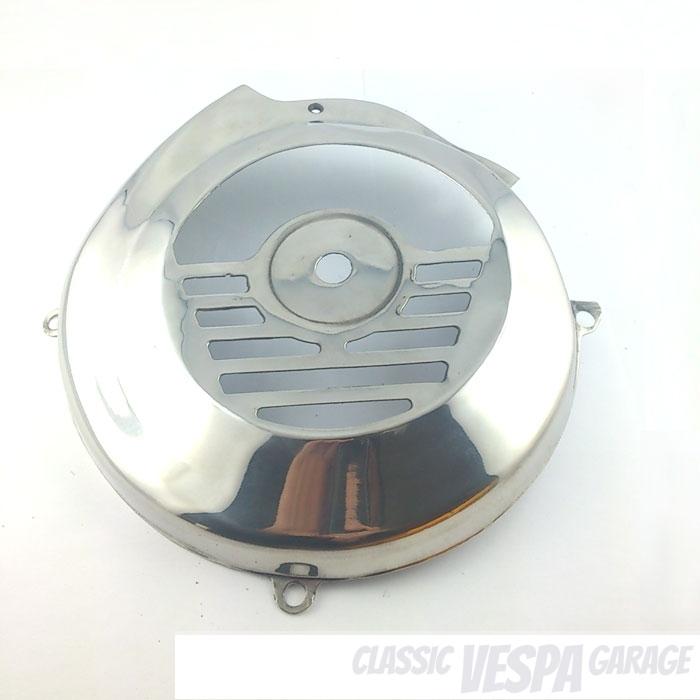 Lüfterradabdeckung Vespa V50 1.Serie Edelstahl günstig