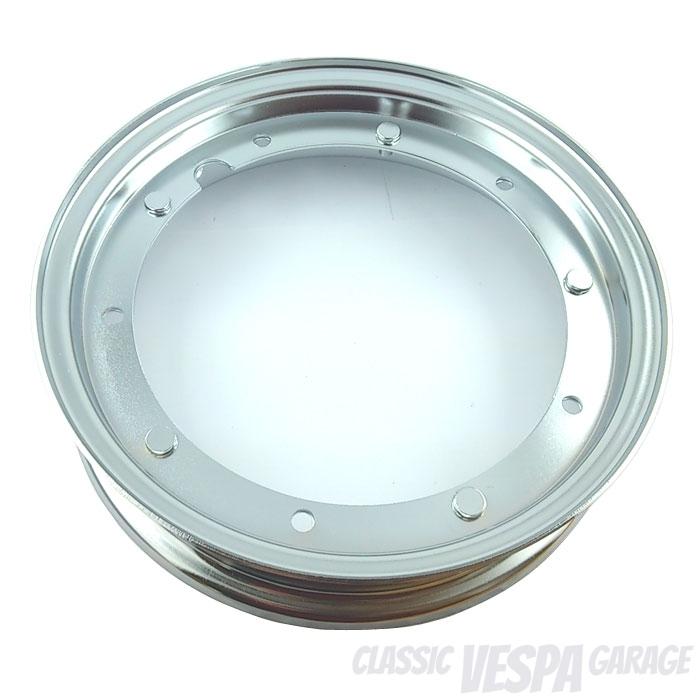 Felge Vespa 10 Zoll offen chrom 2.10x10