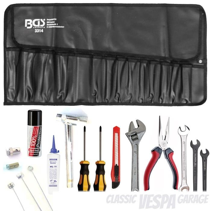 Bordwerkzeug Rolltasche Vespa Survival Kit