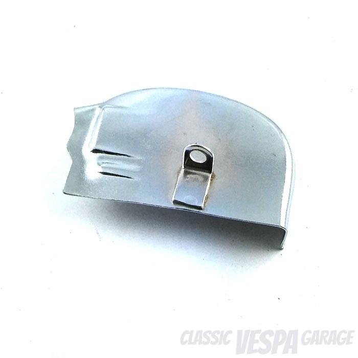 Schaltrastenabdeckung Vespa PX silber