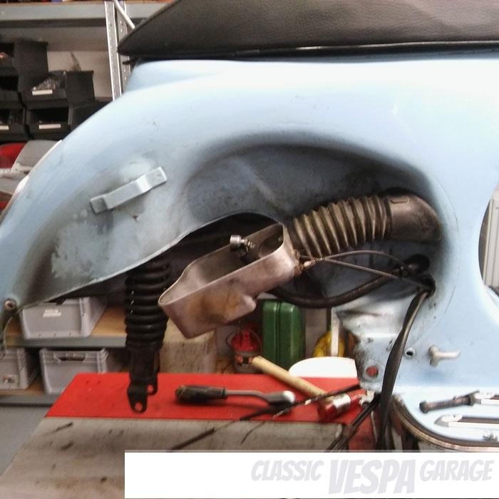 Motor Einbau Ausbau Vespa