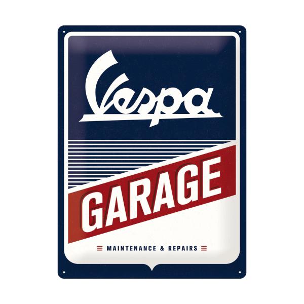 Vespa Garage Blechschild Accessories Merchandise