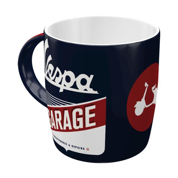 Tasse Kaffeebecher Vespa Garage Accessories Merchandise