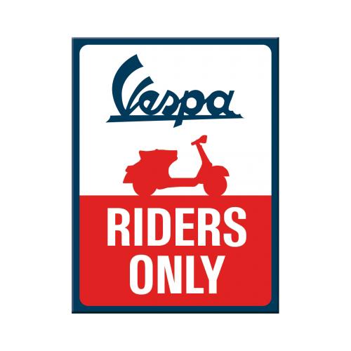 Vespa Kühlschrankmagnet Riders Only Accessories Merchandise
