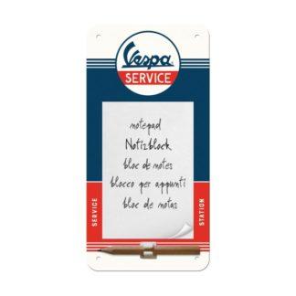 Notizblock Vespa Service