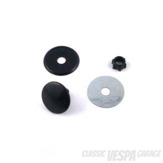 Zierschraube Bohrloch Stopfen schwarz Vespa 22mm