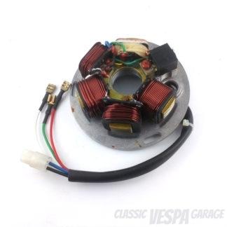 Zündgrundplatte Vespa PX 5 Kabel
