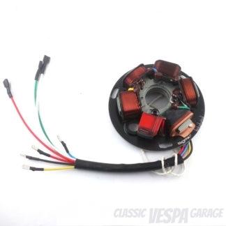 Zündgrundplatte Vespa PX 7 Kabel mit Batterie BGM