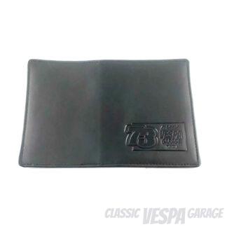 Dokumententasche Leder Classic Vespa Garage